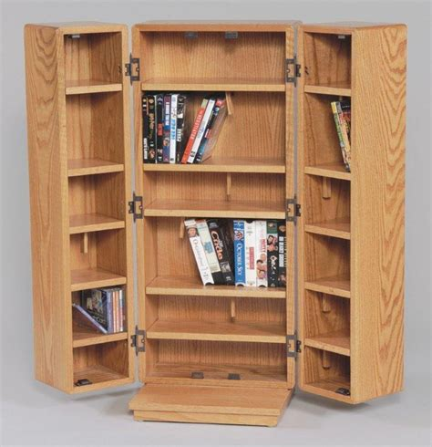 wood cd dvd cabinet amish medium cd cabinet with doors
