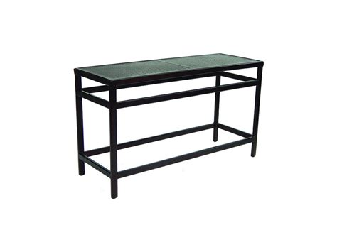 X Console Table Classical 18 Quot X 54 Quot Rectangular Console Table Hauser S Patio