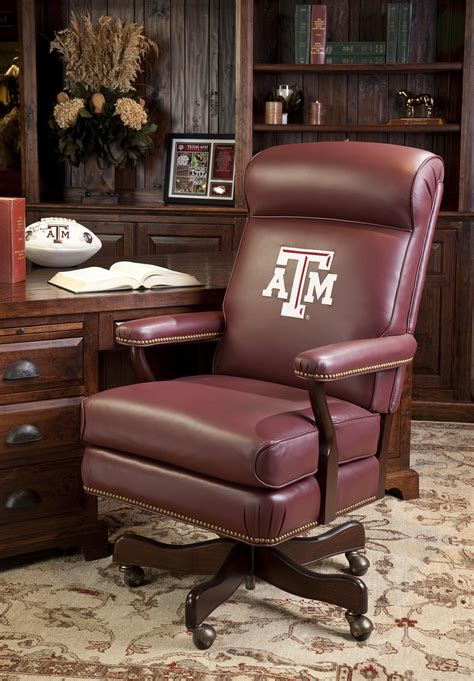 texas a m desk accessories texas a m executive chair brumbaugh s fine home