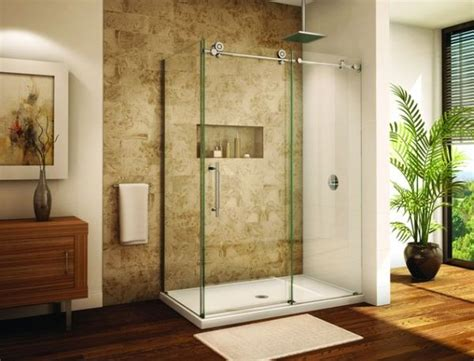 modern bathroom sliding door for your shower