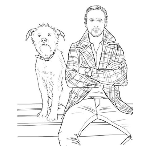 gosling coloring book at last the gosling coloring book