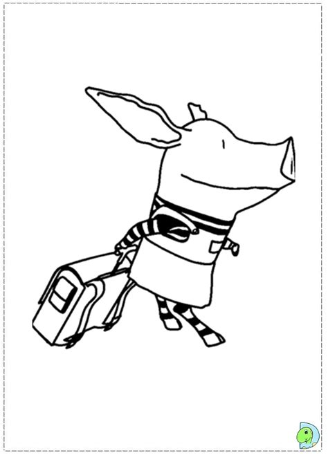 olivia pig coloring page olivia coloring page az coloring pages