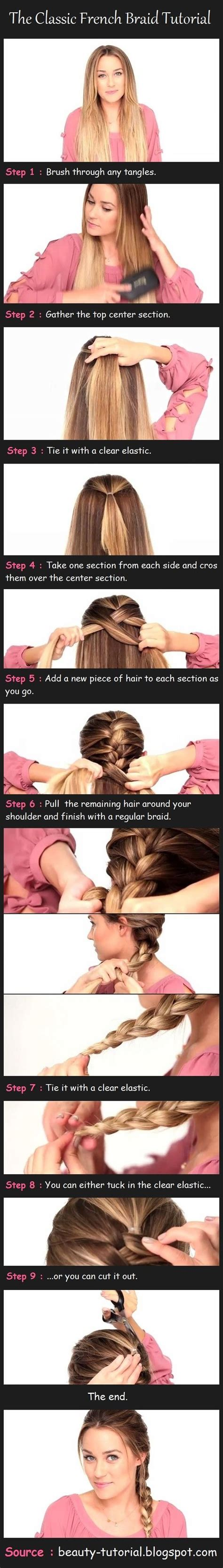 diy hairstyles for dummies the classic french braid tutorial pictures photos and