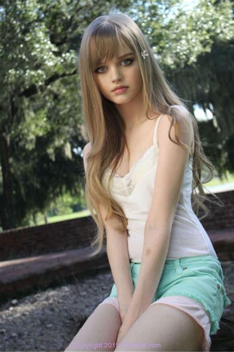 amature 14yo a real life teen barbie 6 pics izismile com