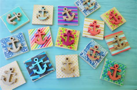 crafts for at simple anchor craft tutorial lds c ideas with