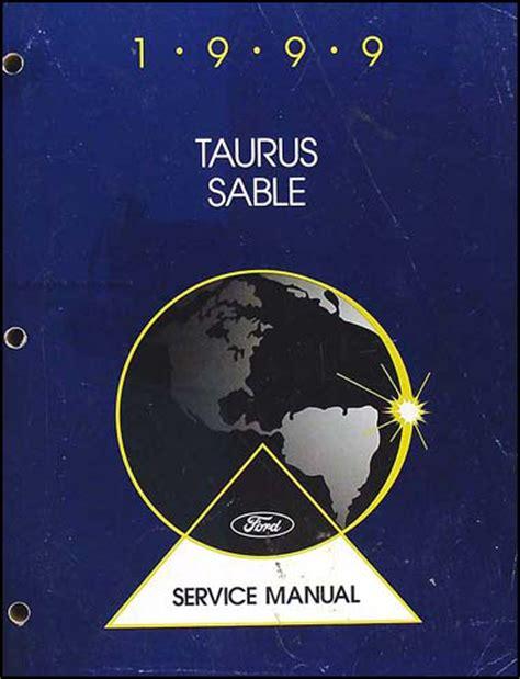 service manual 1999 ford taurus repair manual for 1999 ford taurus and mercury sable shop manual 99 repair service workshop book ebay