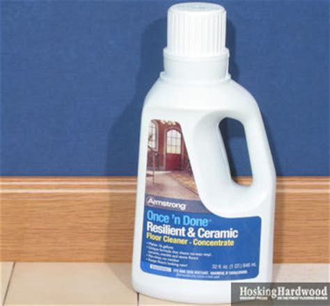 Armstrong Once N Done Resilient And Ceramic Floor Cleaner by Floor Care Armstrong Cleaners Polishes Armstrong Cleaning Products For Flooring Once N