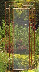 Unique Garden Trellis These Metal Garden Trellises Are Beautiful With Or Without