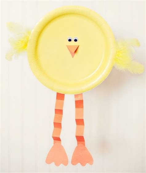 Simple Crafts With Paper Plates - and easy easter craft ideas for