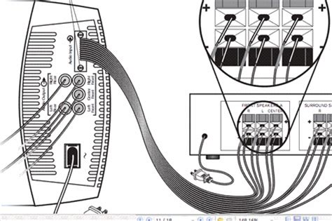 bose acoustimass 7 wiring diagram trusted wiring diagrams bose acoustimass 6 10 15 subwoofer reciever cable ebay