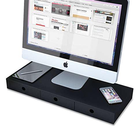 desk saver organization system flat panel monitor riser stand space saver workstation