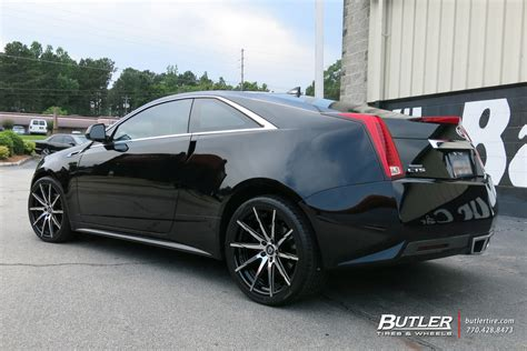 cadillac cts 20 inch wheels cadillac cts with 20in lexani css15 wheels exclusively