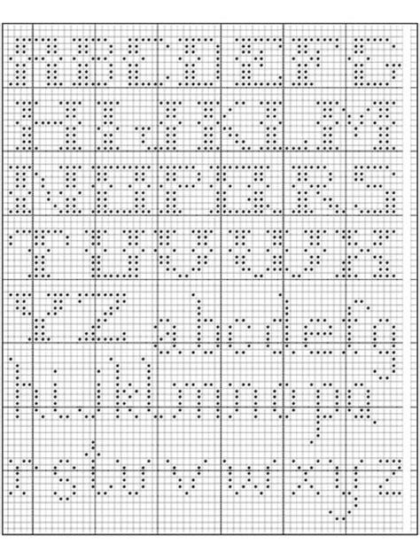 pattern crochet alphabet alphabet in filet crochet i free crochet pattern filet