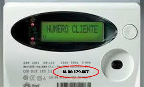 codice sia cos dove trovo il numero di matricola contatore enel