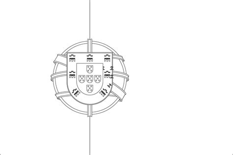 Portugal Flag Coloring Page Blank Flag Coloring Page