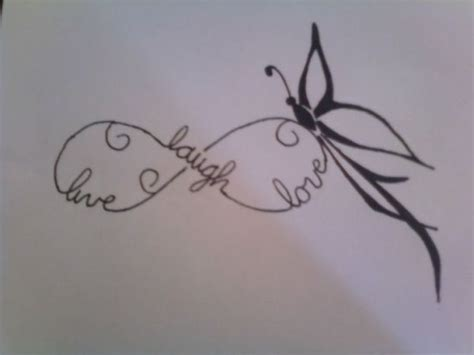 infinity tattoo grace i like the idea of this tattoo but instead of the words
