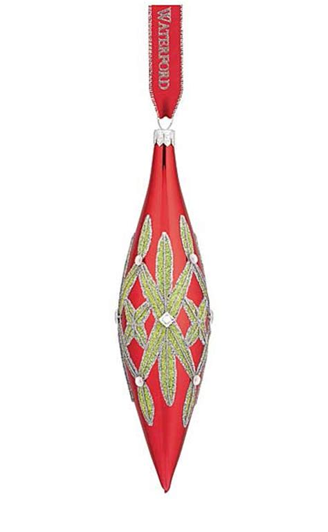 waterford holiday heirlooms nostalgic collection waterford heirloom nostalgic collection lismore spire ornament