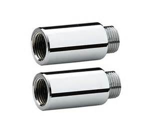 bristan extension pipes for bib taps chrome bte c