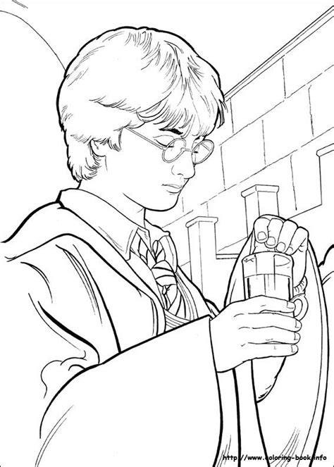 harry potter coloring pages from the chamber of secrets harry potter coloring page