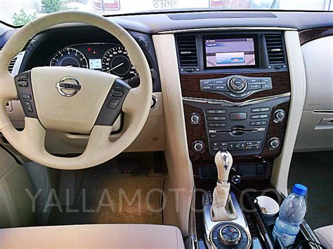 nissan patrol platinum interior nissan patrol 2014 se platinum in uae new car prices