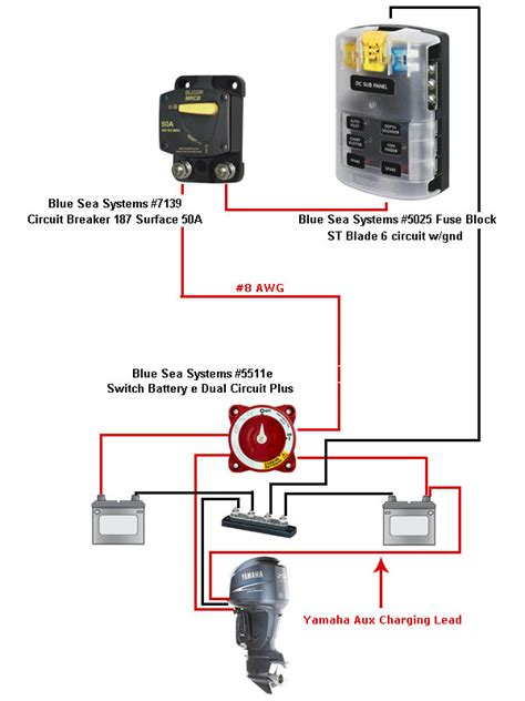 blue sea dual battery wiring diagram