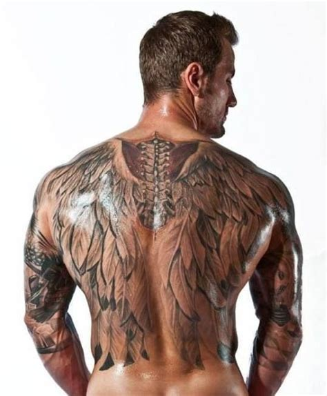 sexy back tattoos for men s wings tattoos wings