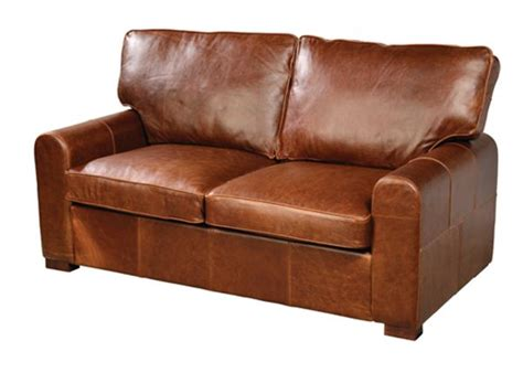 Leather 2 Seater Sofas 2 Seater Leather Sofa Quality Oak Furniture From The Furniture Directory