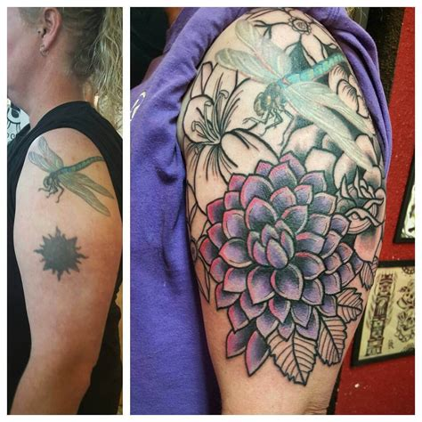 tattoo lettering cover up ideas 33 tattoo cover ups designs that are way better than the