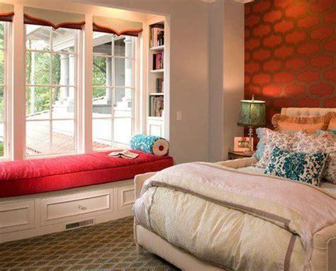 bay window bedroom serene bedroom interiors for home decor