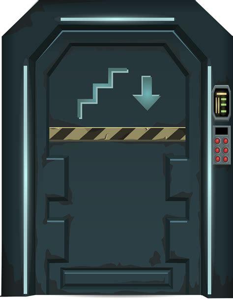 futuristic doors free futuristic door clip art
