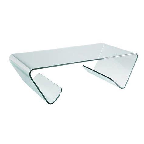 table basse design en verre