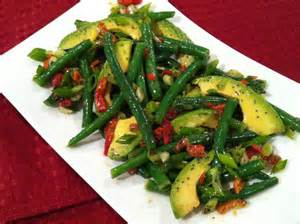 southern spoon green bean amp avocado salad with poppyseed