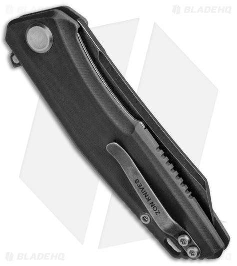 c02 knife stedemon knife co zkc c02 tanto knife black g 10