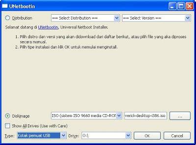 membuat file iso di ubuntu membuat live usb ubuntu 10 10 dengan unetbootin universal