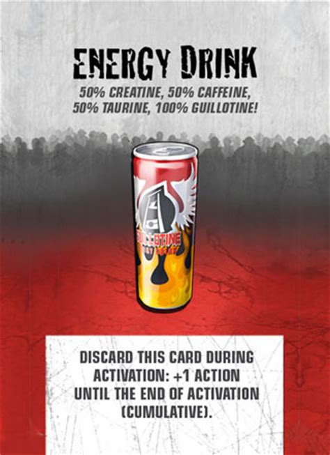 energy drink zombicide zombicide card database