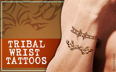 tribal wrist tattoos for guys tribal wrist tattoos