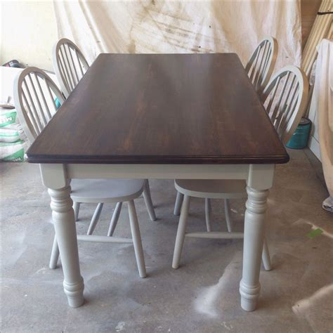 minwax stain walnut painted with rustoleum spray paint gray diy refinish