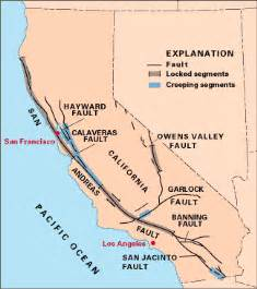 california tectonic plate map large release of methane los angeles coast gas