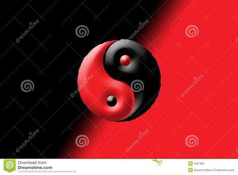 imagenes abstractas rojo y negro yin negro y rojo y yang fotos de archivo imagen 4257803