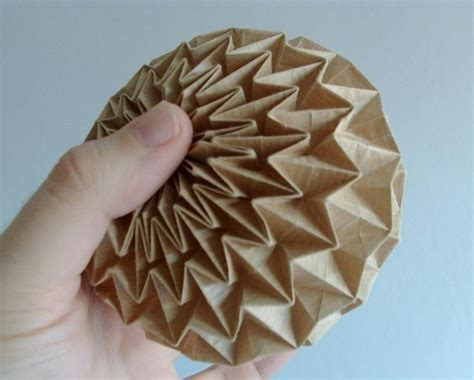 Origami Paper Works - 17 best images about sculptural spheres on
