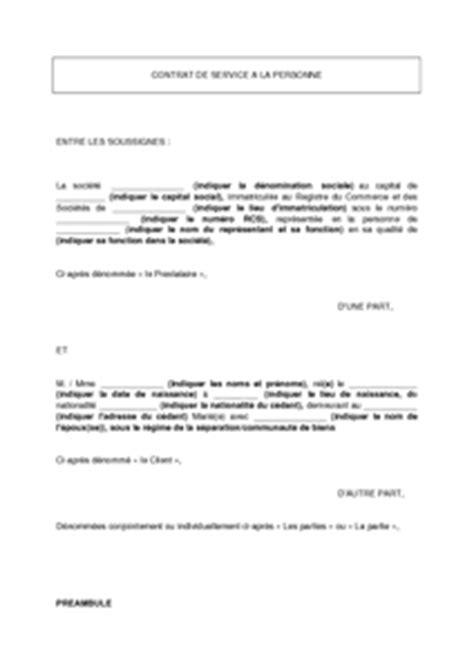 Lettre Commerciale Entreprise De Services Gratuit Modele Lettre Licenciement Aide Menagere