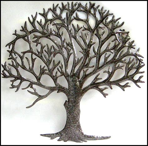 natural metal tree wall art decoration ideas metal tree