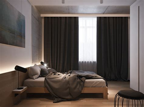 dark curtains bedroom 4 beautiful dark themed homes