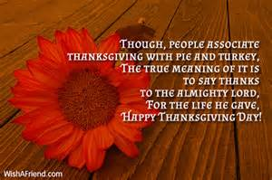 true meaning of thanksgiving day thanksgiving messages page 2