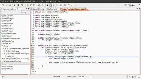 pattern plugin java java bukkit plugin tutorial chat commands implementing