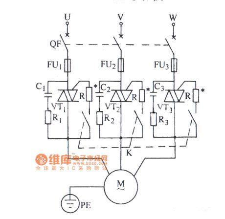 typical phase diagram triac three phase motors typical circuit diagram