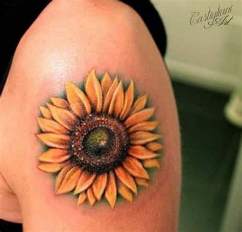 beautiful sunflower tattoo ideas best tattoos 2017