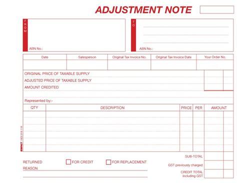 Credit Adjustment Note Template Ok Office School Bulk Stationery Supplies Sydney Brisbane Melbourne 2017 2018 Diaries Savings