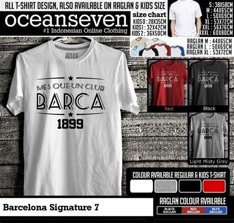 Diskon Kaos Inter Signature 12 Distro Seven barcelona signature 7 kaos distro