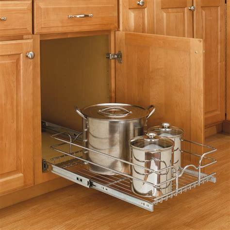 rev a shelf pull out drawer rev a shelf 12 quot single pull out basket chrome 5wb1 1222 cr
